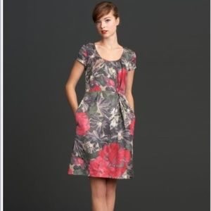 Banana Republic Mad Men Begonia Dress Sz 14